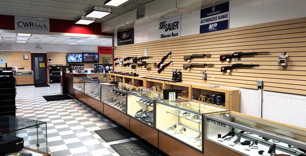 Lexington Guns and Shooting Range: 472 Hwy 378 W, Lexington, SC