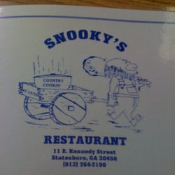 Snookys Restaurant Closed American Traditional 11 E Kennedy