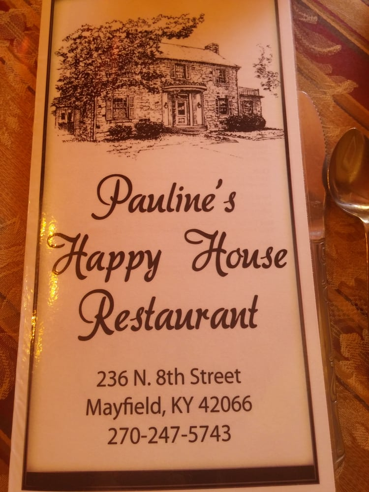 Happy House Restaurant: 236 N 8th St, Mayfield, KY