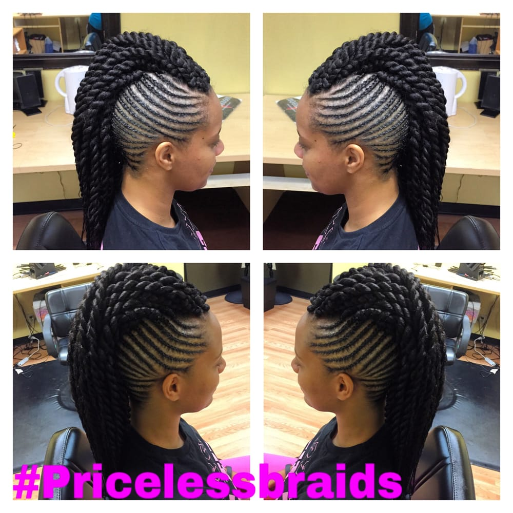 Twisted Mohawk With Braided Sides Yelp