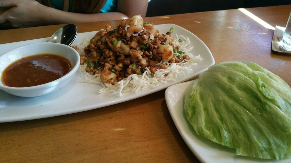 Chicken and shrimp lettuce wrap - Yelp