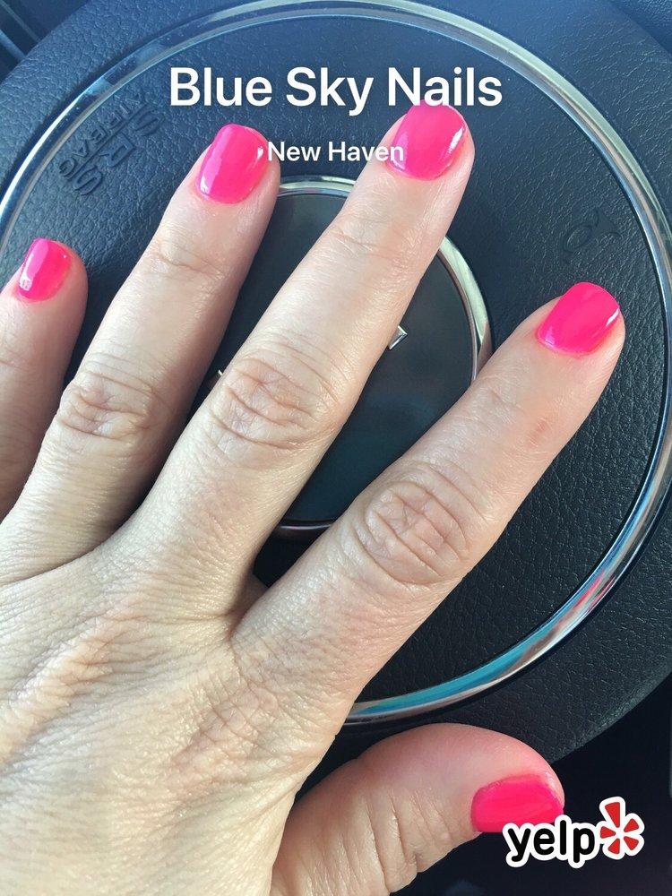 Powder nail polish. - Yelp