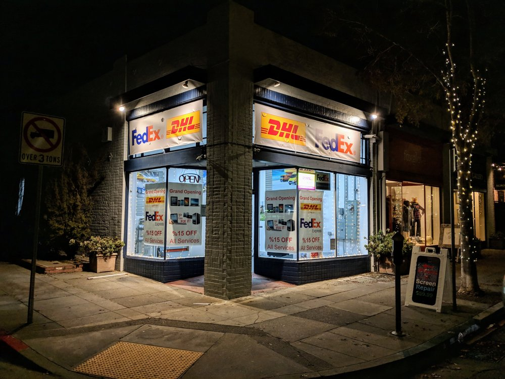 Fastline DHL Express & FedEx Express Shipping Center: 1748 Shattuck Ave, Berkeley, CA