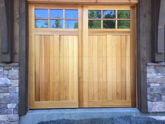 Photo of Marvin\u0027s Garage Doors - Winston Salem NC United States. Custom wood & Marvin\u0027s Garage Doors - Get Quote - Garage Door Services - 3935 ...