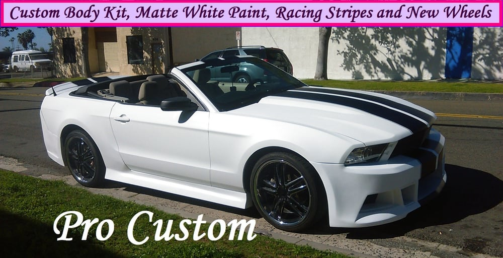 Photo Of Pro Custom Oceanside Ca United States Matte White Paint