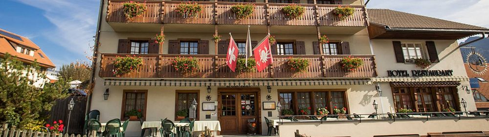 Hotel Restaurant Gruyérien - Morlon
