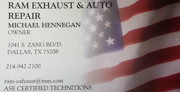 RAM Exhaust and Automotive Repair - Get Quote - Auto Repair - 1041 S ...