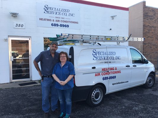 Specialized Heating & Air Conditioning Service 350 N Indiana Ave