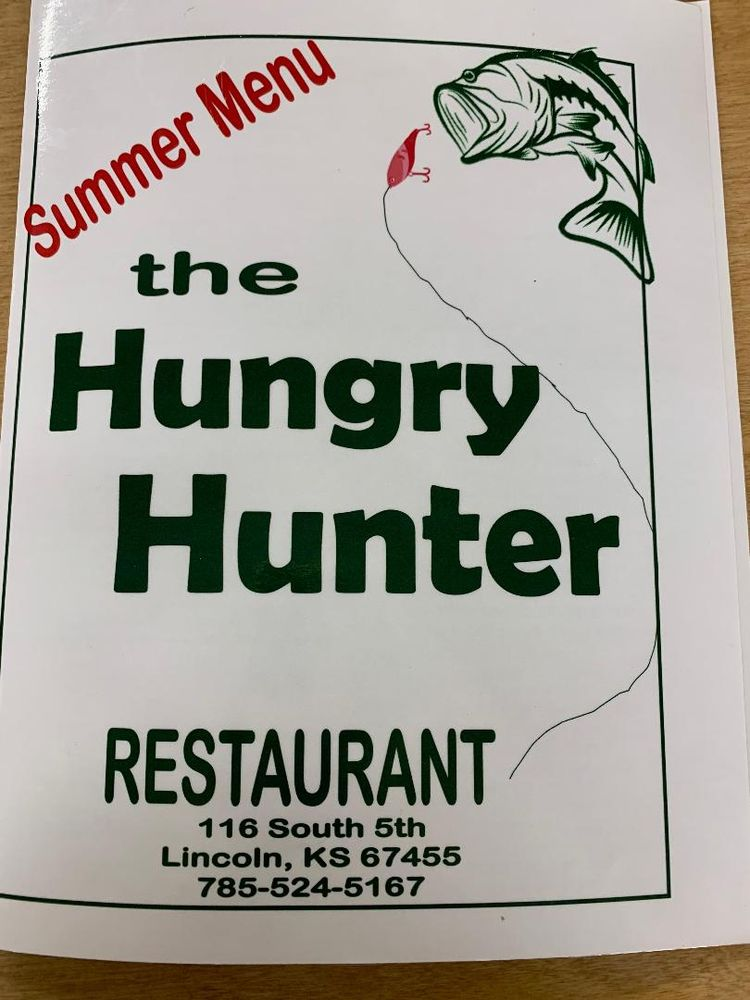 The Hungry Hunter: 116 S 5th St, Lincoln, KS