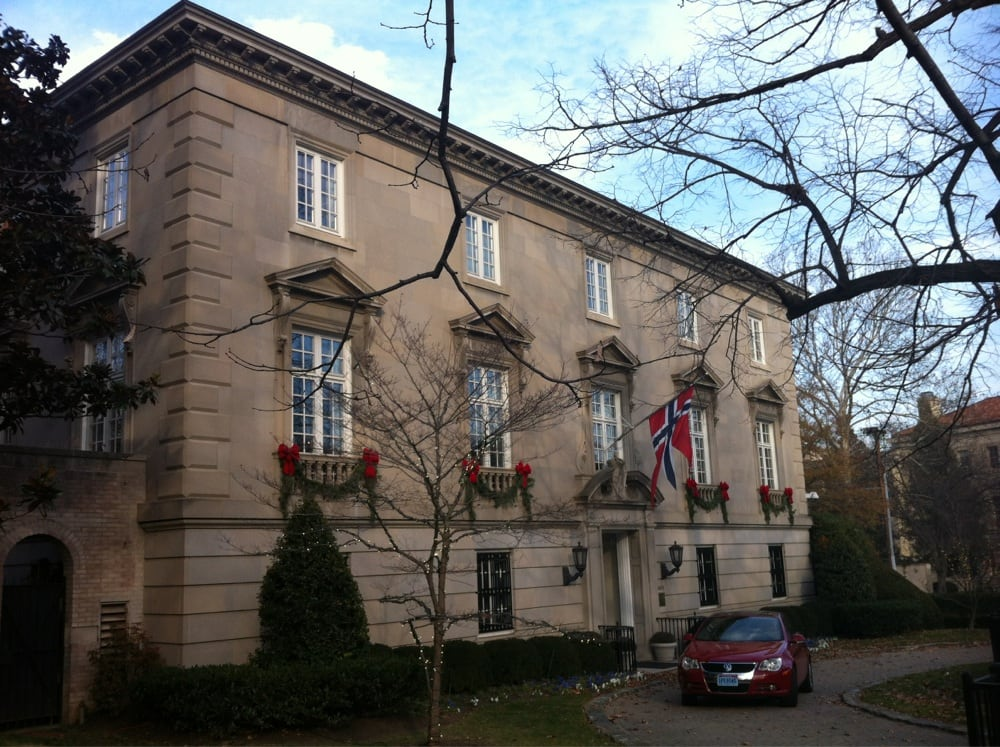 Embassy of Norway: 2720 34th St NW, Washington, DC, DC