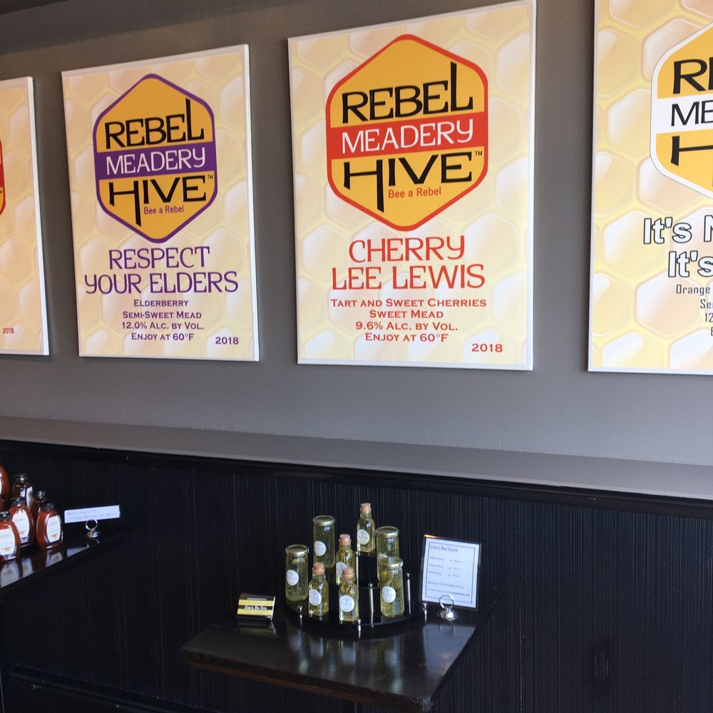 Food from Rebel Hive Meadery