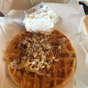 Photo Of Kountry Style Kitchen Restaurant Kapaa Hi United States Waffle With