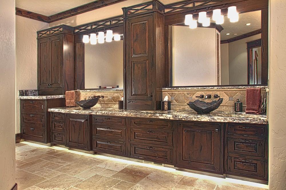 Master bath by Huntwood Custom Cabinets! - Yelp - photo#45