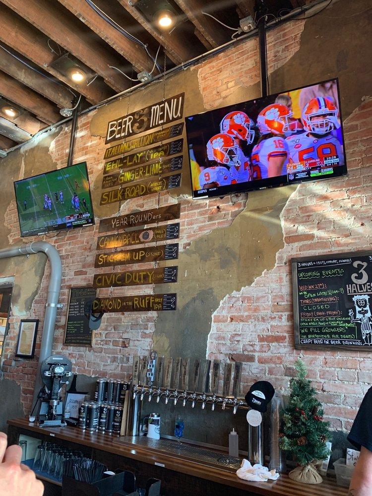 3 Halves Brewing: 110 E Kansas St, Liberty, MO