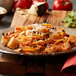 Photo Of Bertucci S Italian Restaurant Framingham Ma United States Scallops Shrimp