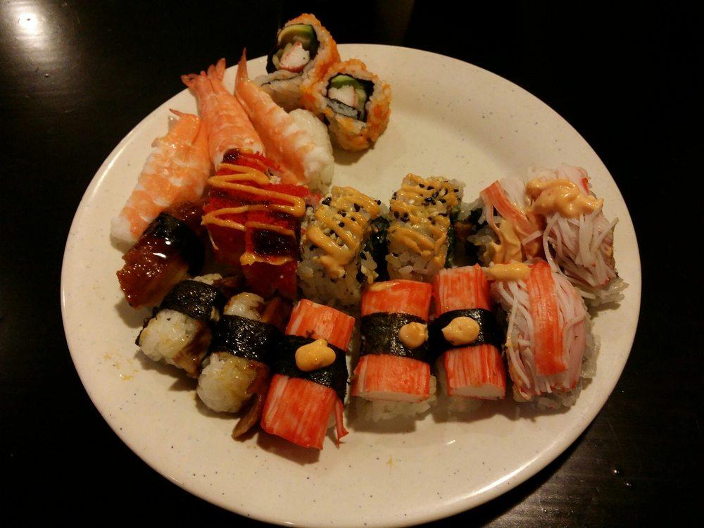 Food from Hibachi Buffet