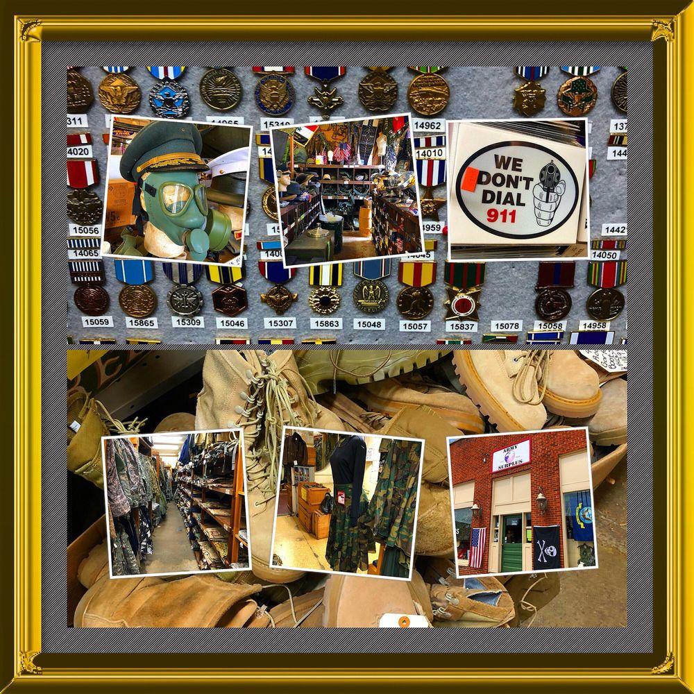 Army Surplus Collierville: 127 N Main St, Collierville, TN