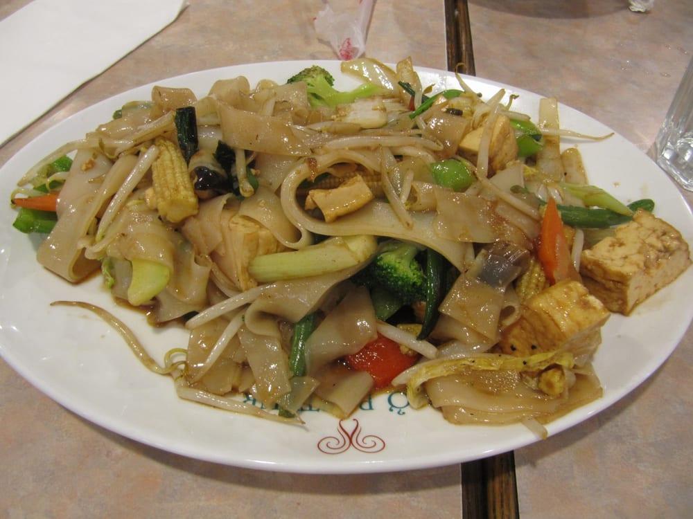 ... . Tofu Vegetable Chow Foon Stir Fried (flat rice noodle) $8.25 6/2013