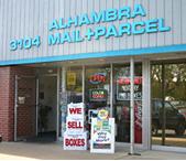 Alhambra Mail & Parcel