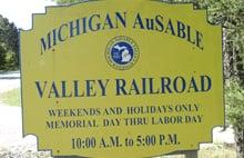 Michigan Ausable Valley Railroad: 230 S Abbe Rd, Fairview, MI