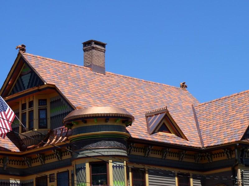 Davinci slate terracota blend installation yelp for Davinci slate roof reviews