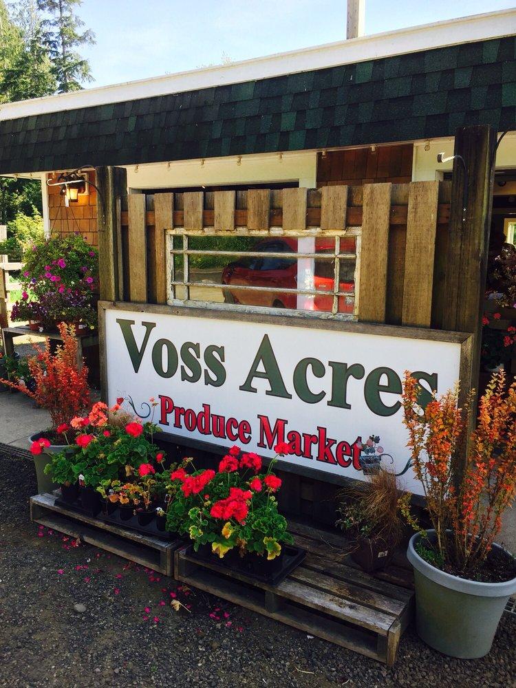 Voss Acres Produce Market: 1683 Ocean Beach Rd, Copalis Crossing, WA