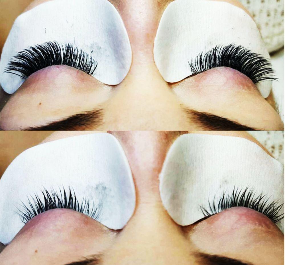 aef1577b9f5 Lovin these mink eyelash extensions, beautiful right? It feels so ...