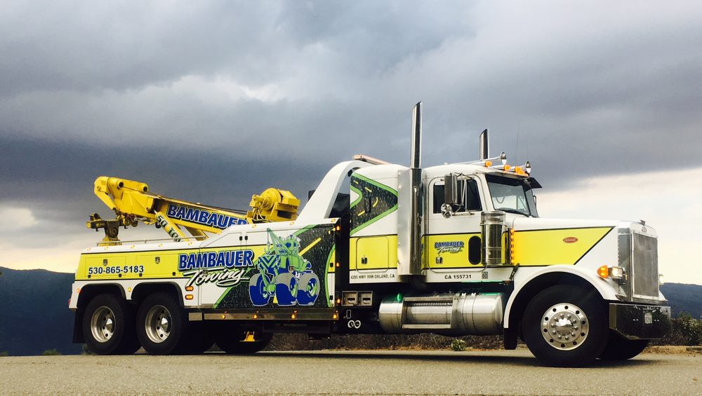 Bambauer Towing Service: 4295 Hwy 99w, Orland, CA