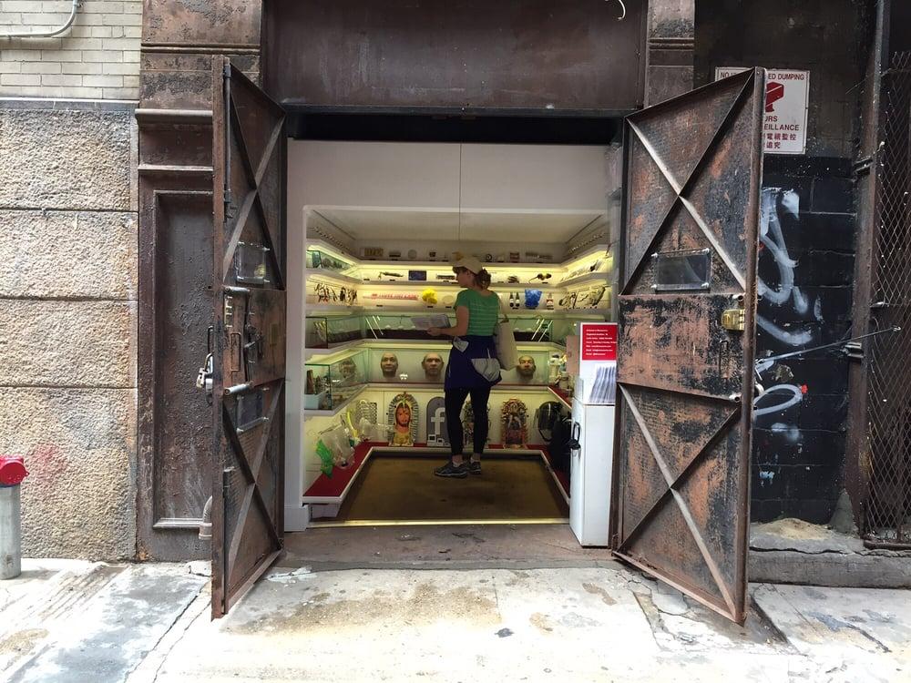 Mmuseumm: 4 Cortlandt Aly, New York, NY