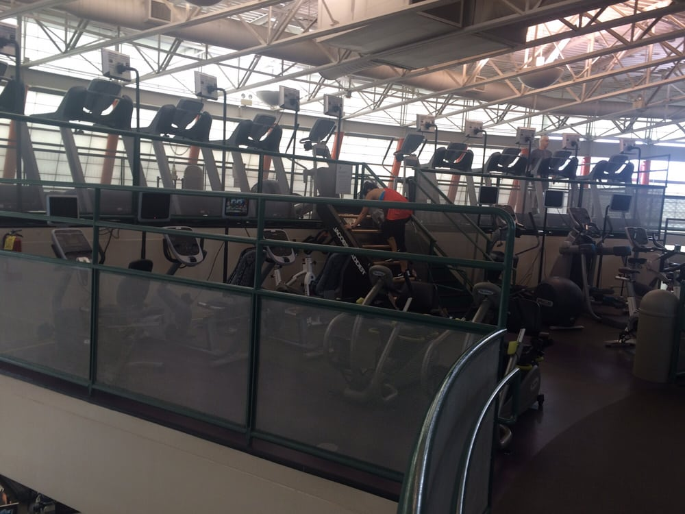 A smaller work out area on the top floor yelp for Work out floor area