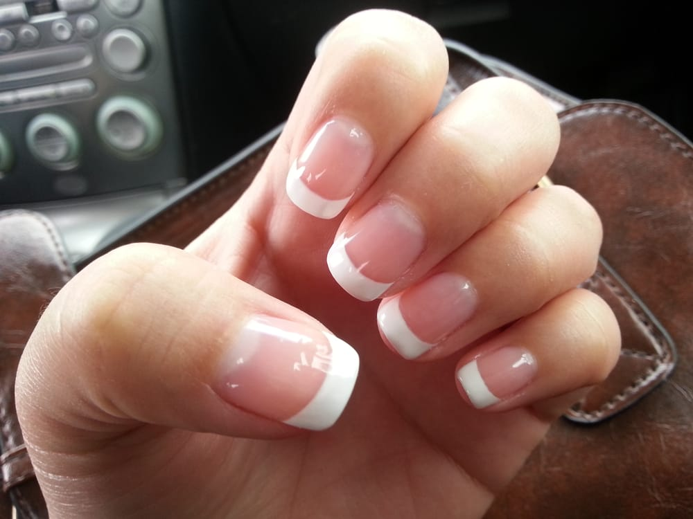 French manicure tips for toes