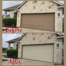 Photo Of Fratex Garage Door Specialists   Round Rock, TX, United States.  Change