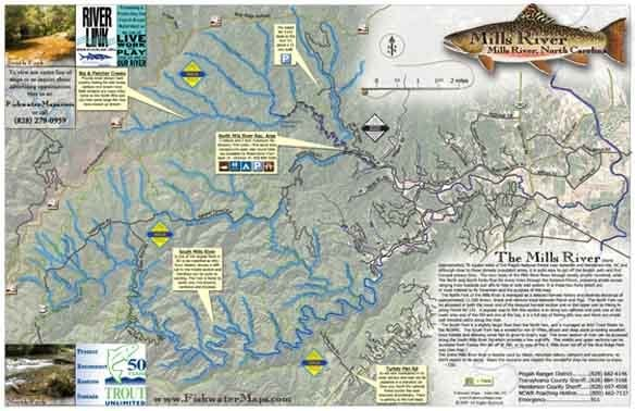 Fishwater maps boating 426 state st asheville nc for Fishing access near me