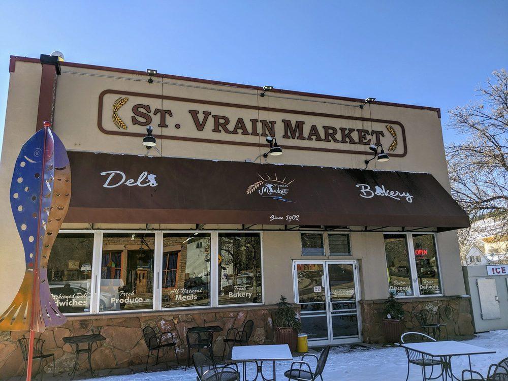 St. Vrain Market, Deli & Bakery: 455 Main St, Lyons, CO