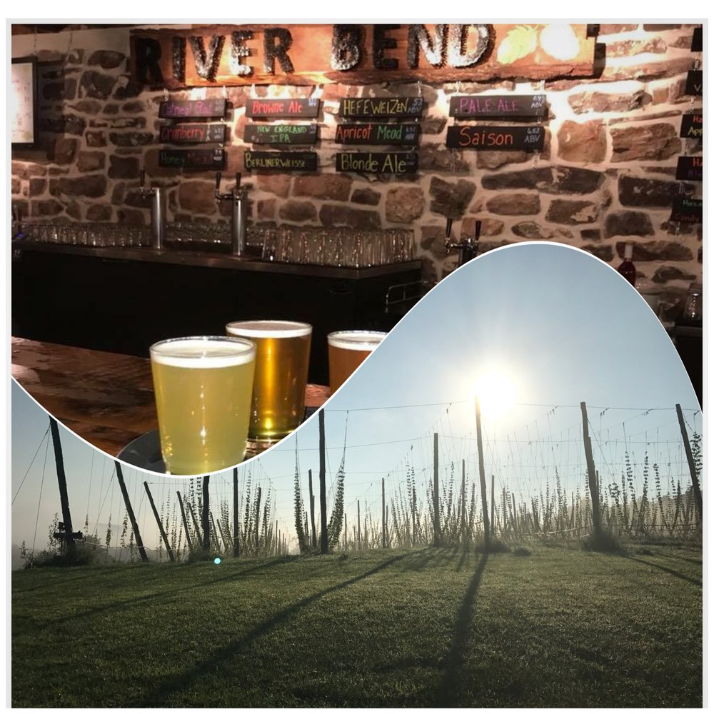 River Bend Hop Farm & Brewery: 1800 Lower Bailey Rd, Newport, PA