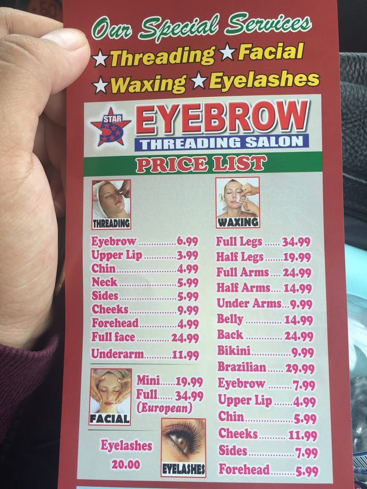 Price list yelp for 4 star salon services
