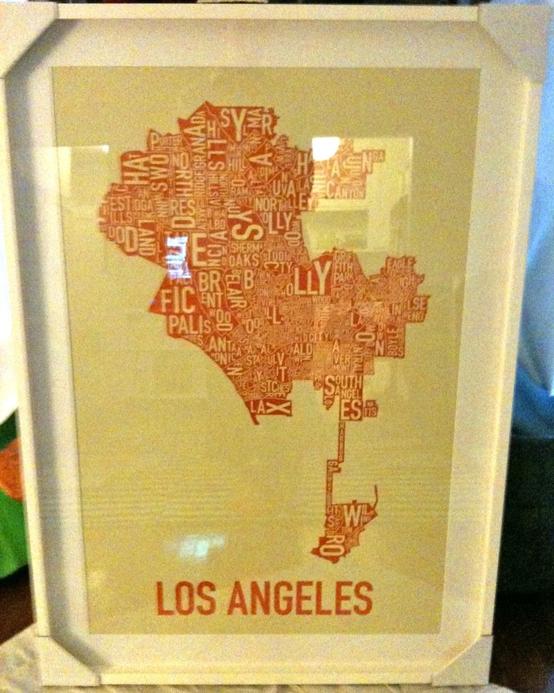 poster by ork posters, incredible framing job by pasadena picture ...