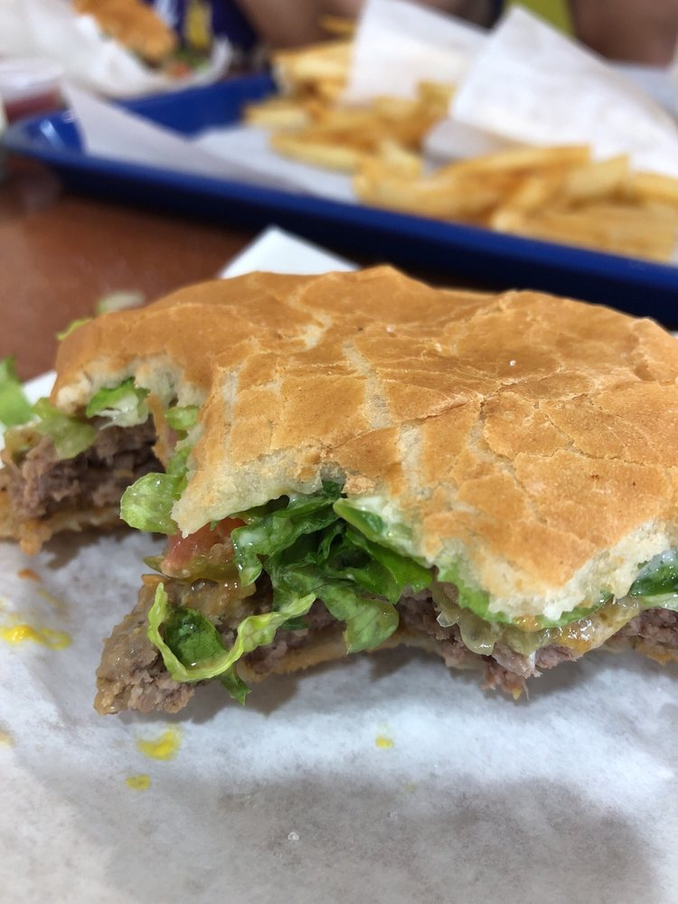 Food from Jim's Big Burger
