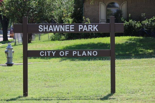 Shawnee Park Sign Photo By Happy Tails Pet Pal Llc Yelp