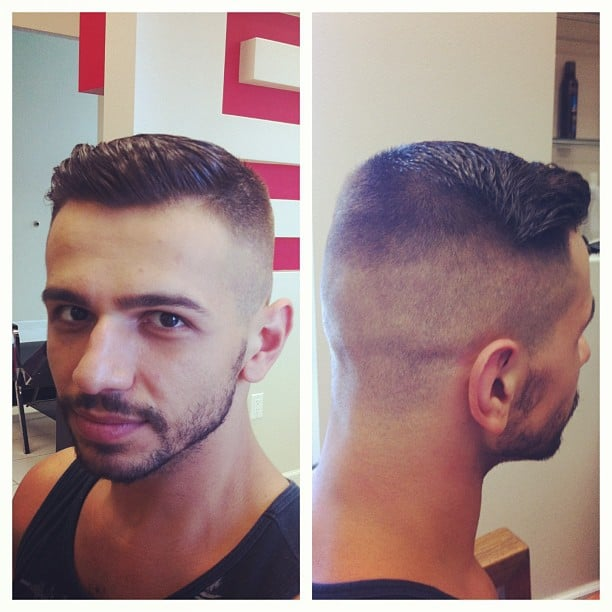 Gentlemen S Cut Zero Fade Sleek Back Stylist Arax Yelp