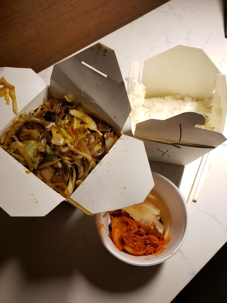 Food from Charlie Kang's