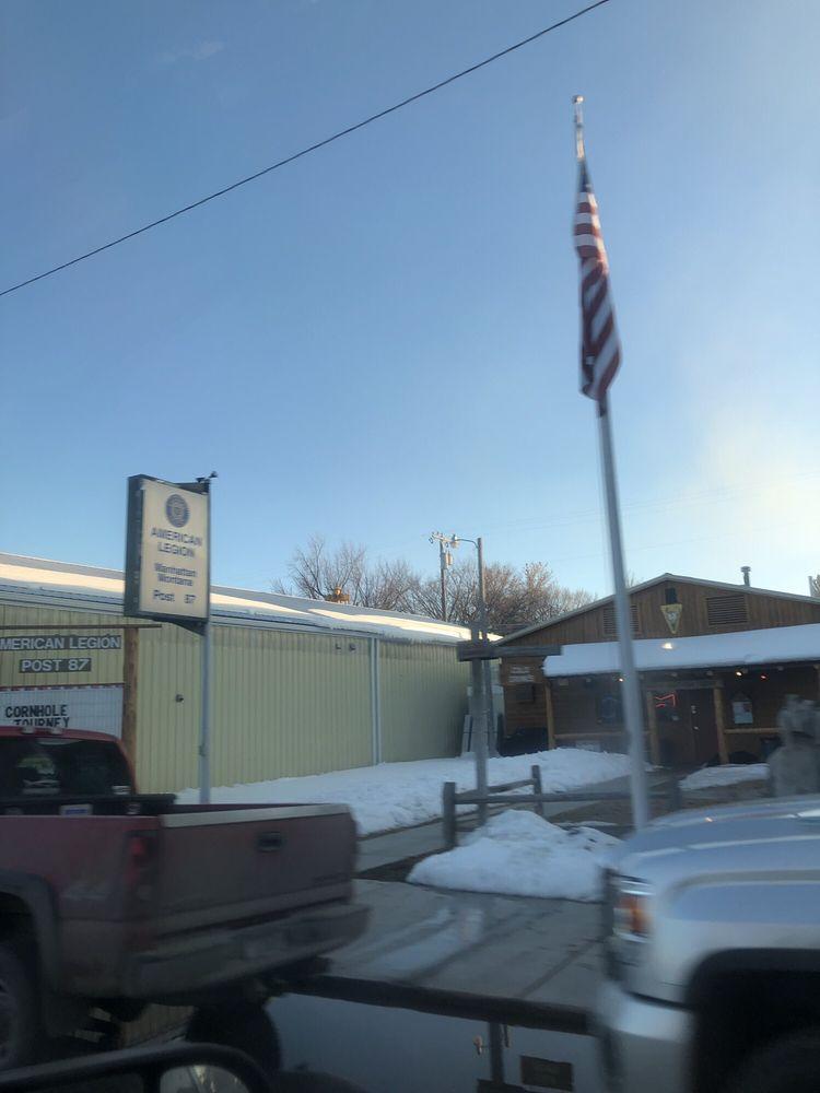 American Legion Club Post 87: 218 E Main, Manhattan, MT