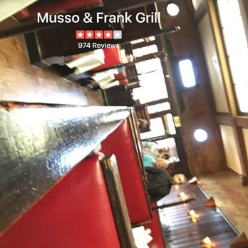 Musso frank grill 1029 photos 1034 reviews seafood 6667 hollywood blvd hollywood - Musso and frank grill hollywood ...