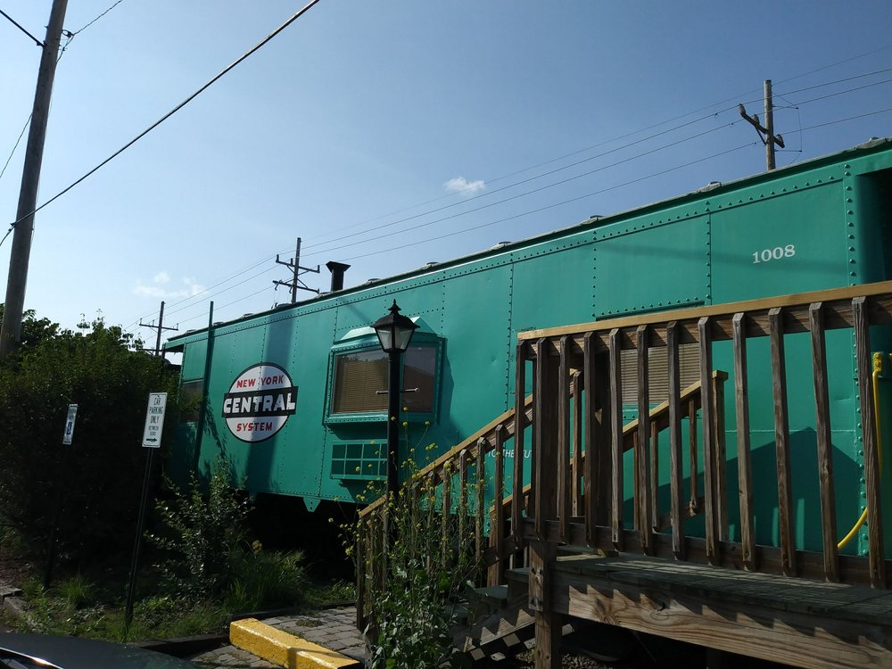 The Caboose Motel: 407 S Perry St, Titusville, PA
