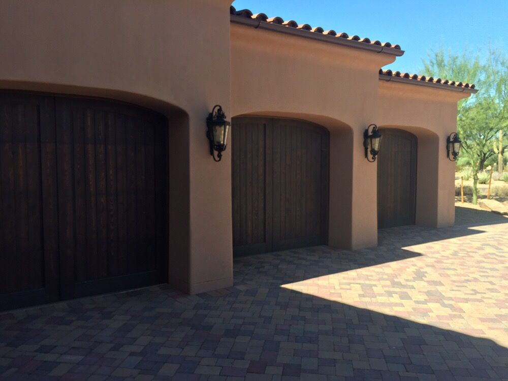 Custom Wood Overlay Garage Doors Yelp