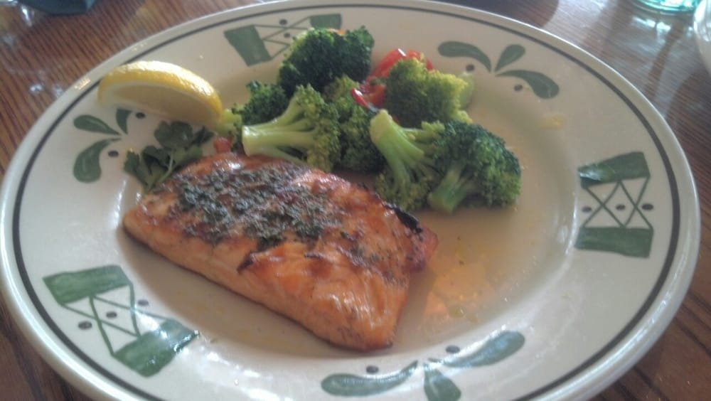 Herb Grilled Salmon Yelp