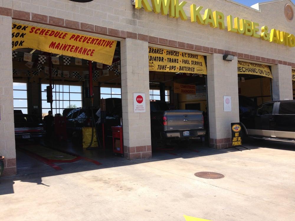 Kwik Kar Oil & Lube Of Aledo: 805 N Fm 1187, Aledo, TX