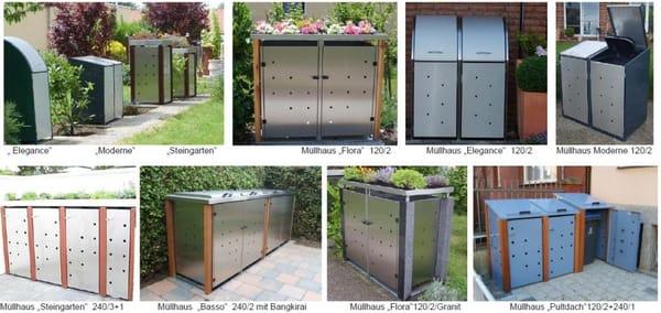 Photo For Gartendesign4use   Mülltonnenboxen, Müllboxen Und Gartenprodukte