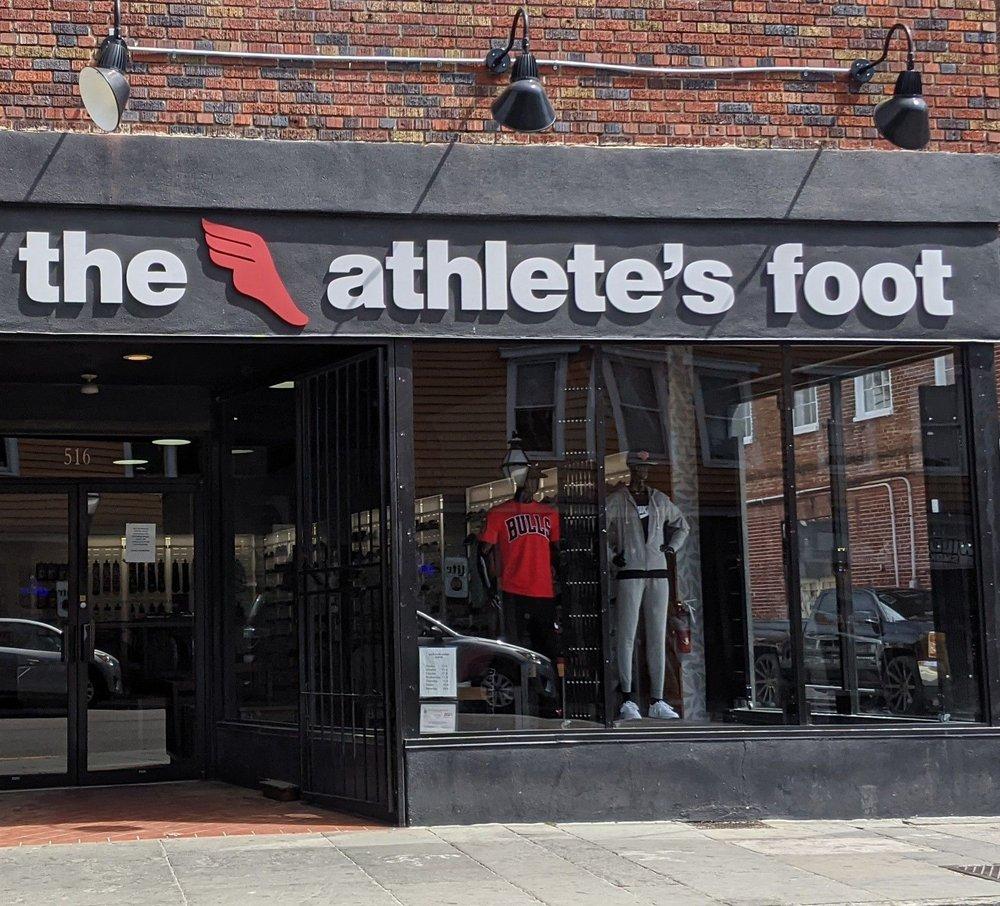 The Athlete's Foot: 516 King St, Charleston, SC