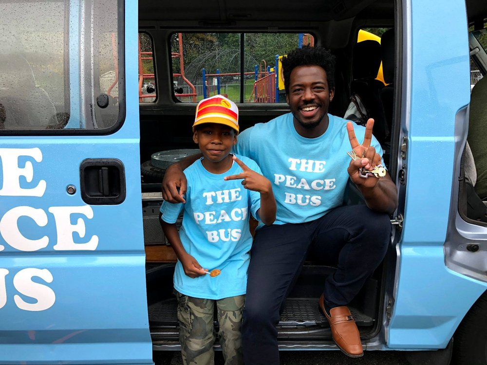 The Peace Bus: Tacoma, WA